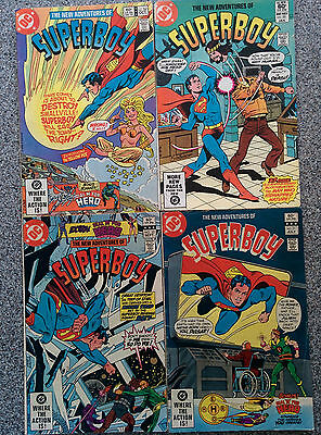 The New Adventures of Superboy - 1982 #25 - 31 - 33 - 34 (4 in total)