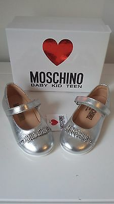 baby toddler infant moschino shoes new uk 5