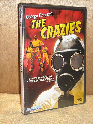 The Crazies (DVD, 2003) Radha Mitchell, Timothy Olyphant,