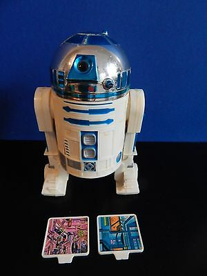 Vintage Star Wars 12 Inch Scale R2D2 with Death Star plans