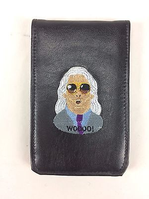 Sunfish Leather Golf Scorecard Book Holder Cover-WWF Nature Boy RIC FLAIR Woo!
