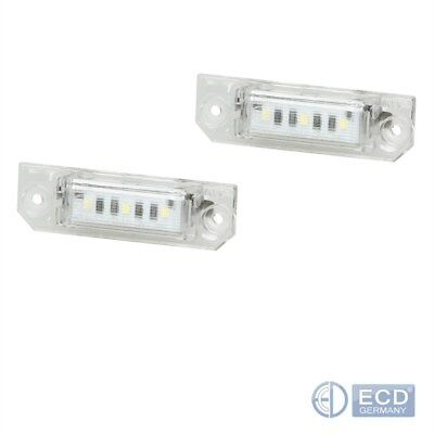 LED Kennzeichenbeleuchtung VW Golf 4 5 6 7 Passat CC Limo Polo Lupo Beetle