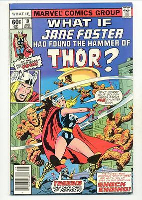 What If? #10   Jane Foster Had Found the Hammer of Thor