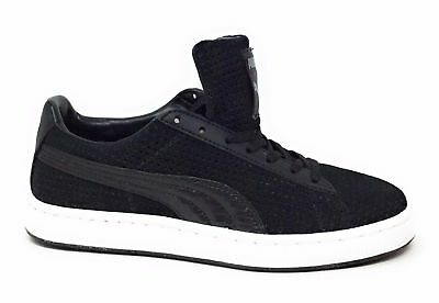 PUMA Mens Suede Urban Statement Fashion Sneaker Shoe Black Size 4.5 D US c97b4982b