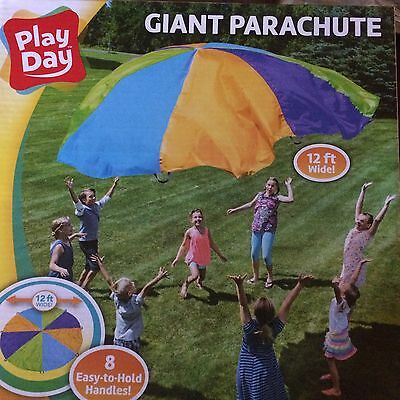 Play Day Giant 12 feet Parachute <<LOTS OF FUN>>