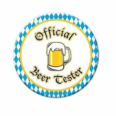 Oktoberfest Officiel Bière Testeur Badge Bouton