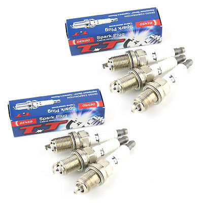 6x Lexus IS 200 Genuine Denso Twin Tip TT Spark Plugs