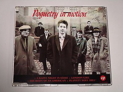 POGUES - Poguetry In Motion EP - 1991 CD Single