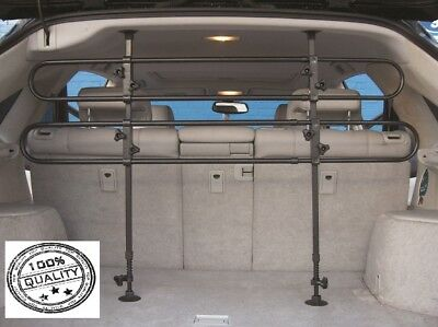 Deluxe Adjustable Tubular Dog Guard/ Pet Barrier for FIAT DOBLO 01-10