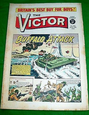 Royal Tank Regiment Buffaloes In Holland  Ww2 Cover Story In Victor Comic 1965