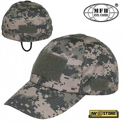 Cappello Militare Berretto MFH Fleece Softair Caccia Military WatchCap FLECKTARN