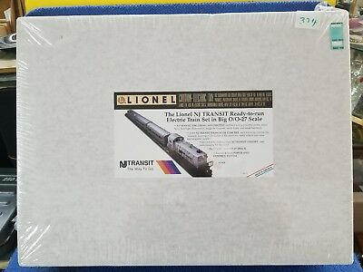 Lionel 6-11828 New Jersey Transit Ready To Run Train Set In Sealed Box
