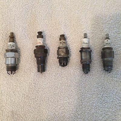 Lot of 10 Spark Plugs, Maytag to Fan Flame,