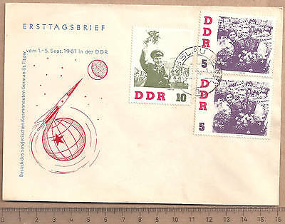 FDC 1961 Titow 5 10