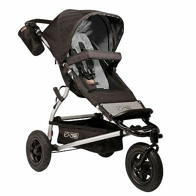 NEW Mountain Buggy Swift Flint Gray Jogger Single Seat Stroller 2013 MB2-S121