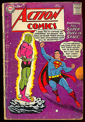 Action Comics #242 1St App Of Brainiac And The City Of Kandor Key Issue Superman