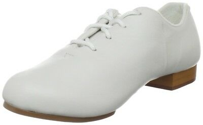 Trimfoot White Split Sole Clogging Oxford Shoes w/ Steven Stompers Taps (CS401)