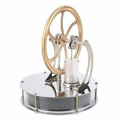 Perpetual Motion Machine External Combustion Engine Low Temperature Stirling ECE