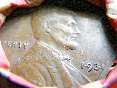 Nice old Wheat penny roll Nice 1909  - 1931  on ends