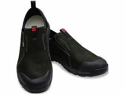 Spenco Mens Total Support Nomad Charcoal Tumbled Nubuck Sz.10 1/2  New with Tags