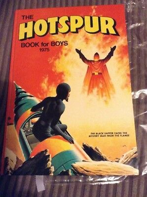 The Hotspur Book For Boys 1975 Vintage Annual Action/Adventure