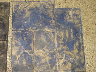 """Concrete Stamps-23"""" x 24""""-Lot of 4 Stamps-Good Shape"""