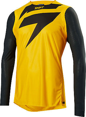 Shift Blue Label Jersey Yellow Adult Small