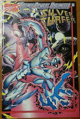 COSMIC POWERS UNLIMITED #2 NM  Silver Surfer 1 Beta Ray Bill 1 Marvel Comic 1
