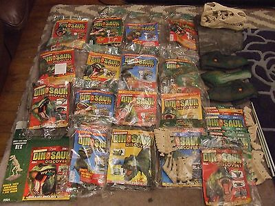 Amazing Dinosaur Discovery Magazine Build A Scale Model Issues 1-24 New & Sealed