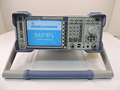 Rohde & Schwarz ZVL6 Vector Network Analyzer 9kHz to 6GHz