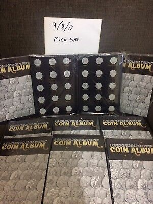 50 Olympic Coin Album. Brand New