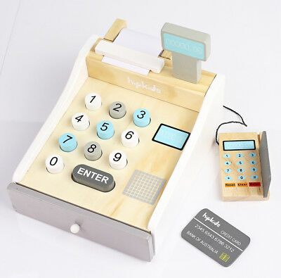 HipKids Toy wooden play Cash Register