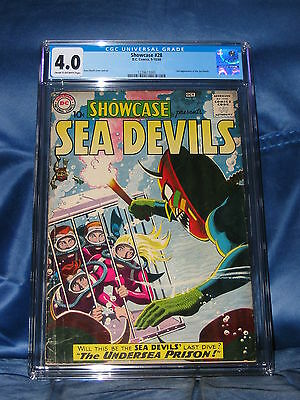 SHOWCASE #28 CGC 4.0 2nd APPEARANCE OF THE SEA DEVILS 1960 RUSS HEATH ART