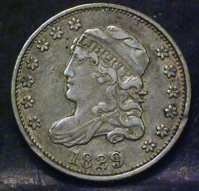 1829 Capped Bust Half Dime Id#mm561
