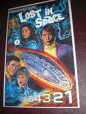 Lost In Space - Issue #3 - Comic Book - Innovation - Unread - Great Price!