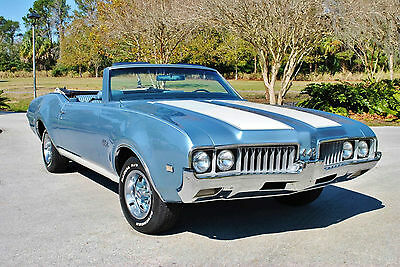 1969 Oldsmobile 442 Convertible Tribute 455 V8 Factory Air! Gorgeous! 1969 Oldsmobile 442 Convertible Tribute 455 V8 Factory Air Power Steering Brakes