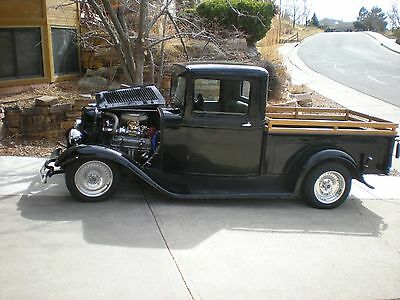 1933 Ford Other Pickups Standard 1933 Ford Pickup All Steel Streetrod