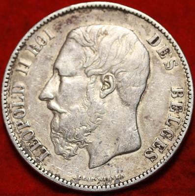 1873 France 5 Francs Silver Foreign Coin Free S/H