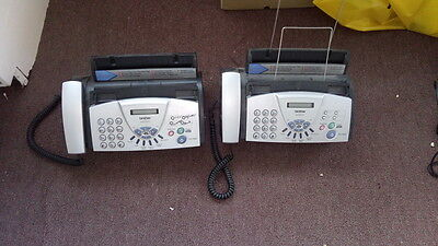 2 x Brother 827S fax machines - very small ideal for home / office