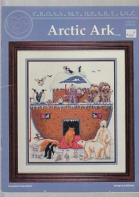 Arctic Ark - Cross stitch chart by Cross My Heart - from my stash