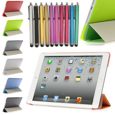 New Slim Magnetic Leather Smart Cover Case For Apple iPad 2 3 4 5 6 Mini Air