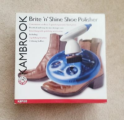 BNIB Kambrook Brite N Shine High Speed Shoe Polisher Electrical Appliance