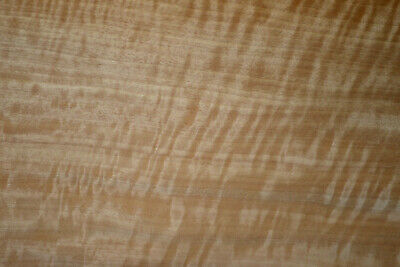 Anigre Raw Wood Veneer Sheet 7.5 x 100 inches 1/42nd thick            ST6771-22