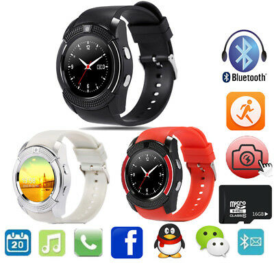 V8 Smart Watch Sport Reloj Bluetooth Smartwatch Sync Notifier Support Sim Card