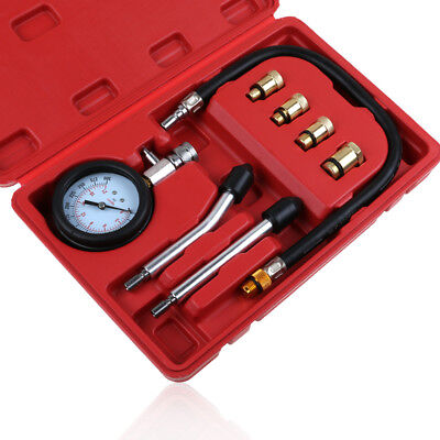 Petrol Gas Engine Cylinder Compression Tester Diagnostic Tester Easy To Use HOT