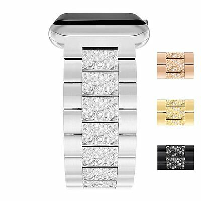 Replacement Stainless Steel Strap Band Clasp for Apple Watch 42mm/38 iWatch