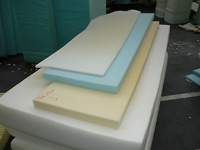 """FOAM UPHOLSTERY FOAM SHEETS/PIECES 60""""x20"""" x any thickness"""