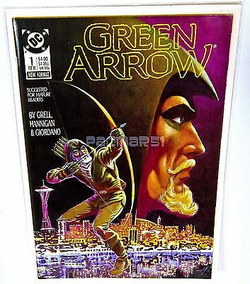 GREEN ARROW #1 , DC COMICS, Mike Grell, 1st on-going series (Feb 1988) NM/VF