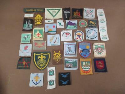 Scout patches, 1950s, 1960s, lot of 35