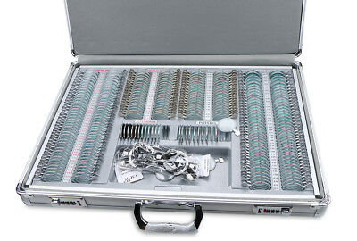 Optical Trial Lens Set Kit 266 pcs Metal Rim Aluminum Case W/ Free Trial Frame